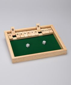 Take a look at this Shut the Box Game by Educators Outlet on #zulily today!