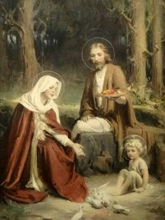 Charles Bosseron Chambers, Holy Family