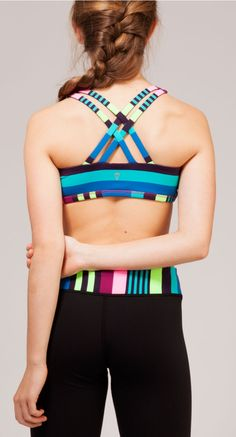 reversible and sweat-wicking to keep you cool during practice.   Vitality Sports Bra