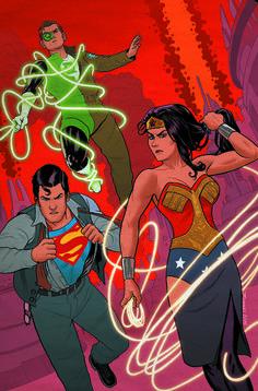 Superman/Wonder Woman #21 variant cover by Joe Quinones