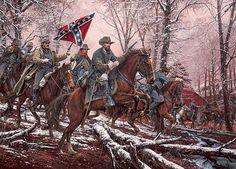 """That Devil Forrest"" - Collectible Civil War Prints by Artist John Paul Strain American Civil War, American History, Civil War Art, Southern Heritage, Southern Pride, Confederate States Of America, Cowboy Art, Civil War Photos, Military Art"