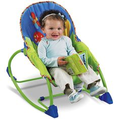 Fisher-Price - Infant to Toddler Rocker, Snail