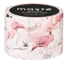 Flamingo washi tape from The Paperdashery