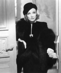 "Marlene Dietrich in ""Angel"" (1937)"