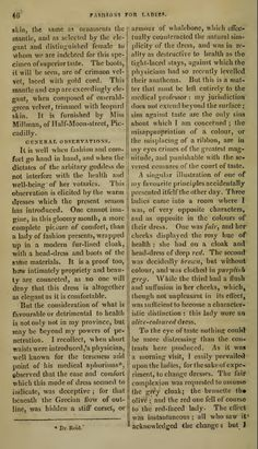 """""""Fashion for Ladies"""" (cont.) January 1810."""