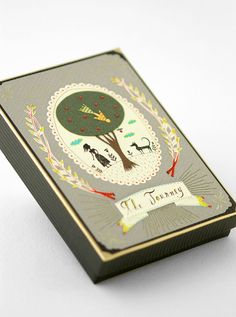 Miniature Artist's  Book. Handmade collectible. With by elsita