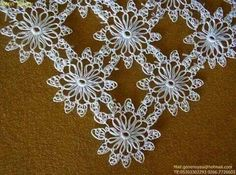 This Pin was discovered by Lal Filet Crochet, Crochet Lace, Crochet Table Runner, Lacemaking, Point Lace, Macrame Bag, Needle Lace, Bargello, Needlepoint