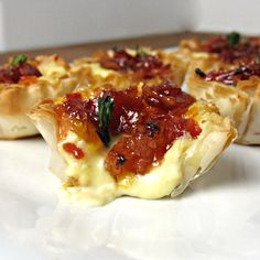 Baked Brie and Bacon Jam Phyllo Cups - Bite 2.3