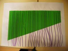 Les lignes verticales
