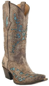 the boots I've been missing...  by Luchesse  http://shop.kokopellinh.com/womens-western-boots/womens-in-stock-boots/in-stock-resistol-ranch-desert-plato-calf-with-turquoise-inlays--wp-toe-m3571-p-3359.html