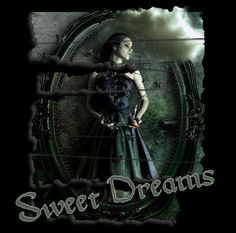Animated Gothic Graphics   sweet dreams goth