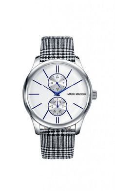 Coolové hodinky značky Mark Maddox  #markmaddox #wandelia #cool #extra #watch #silver #blue #bluestyle #silverstyle #woman #women #fashion #outfit #luxury #elegant Krabi, Bracelet Watch, Watches, Cool Stuff, Bracelets, Accessories, Outfit, Outfits, Wristwatches