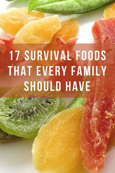 17 survival foods that every family should have - Be prepared and stock up | Must Have Survival Foods | Stock Up on these Survival Foods | Preparedness for Families | Prepping | SHTF Survival Foods to Have on Hand