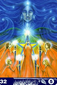 Albumarchiv - New Aura Soma Tarot Five Of Wands, Le Tarot, Spirit Soul, Tarot Card Meanings, Soul Healing, Hero's Journey, Auras, Oracle Cards, Tarot Decks