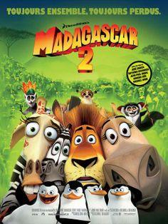 AFFICHE N°3 CINEMA du film MADAGASCAR 2