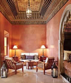 Moroccan Style, I want this in my house. I need to go back to Morocco