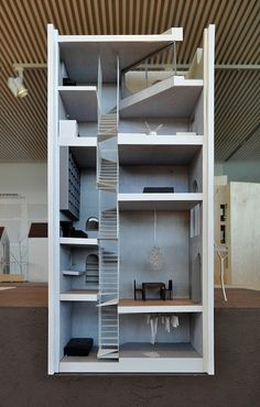 atelier bow-wow, architectural model of house tower, tokyo 2006 by seier+seier, via Flickr