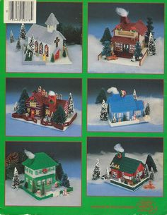 ASN Plastic Canvas Leaflet Christmas Village Vol. I have several plastic canvas kits and patterns available. Plastic Canvas Christmas, Plastic Canvas Crafts, Plastic Canvas Patterns, Tissue Boxes, Tissue Box Covers, Christmas Crafts, Christmas Ornaments, Crochet Christmas, Christmas Deer