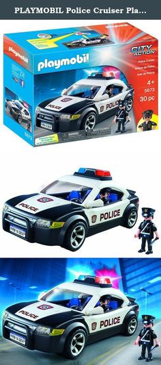 Cool Cars accessories 2017: PLAYMOBIL Police Cruiser Playset. Patrol the city streets with the Police Cruise...  Building Sets, Building Toys, Toys & Games Check more at http://autoboard.pro/2017/2017/04/03/cars-accessories-2017-playmobil-police-cruiser-playset-patrol-the-city-streets-with-the-police-cruise-building-sets-building-toys-toys-games/