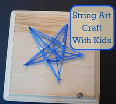 Our Unschooling Journey Through Life: Project #93: String Art