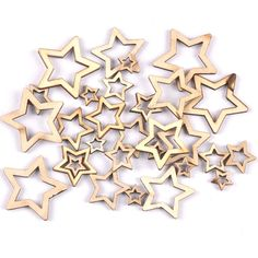 Cheap Wood DIY Crafts, Buy Directly from China Suppliers:Wooden mixed hollowed Stars For Arts Scrapb Wood Wall Decor, Wooden Decor, Wooden Crafts, Home Crafts, Arts And Crafts, Diy Crafts, Leaf Animals, Butterfly Tree, Wooden Cutouts