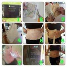 How to do it in a nutshell...wrap yourself skinny! #body wraps iTWorksboom #skinnywraps www wraptolose.com