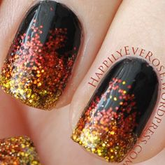 instagram  V | Catching Fire nails