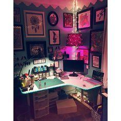 my perfect little corner! #artstudio #art