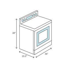 "Verona 36"" 3.9 cu. ft. Freestanding Electric Range & Reviews: stove | Wayfair"