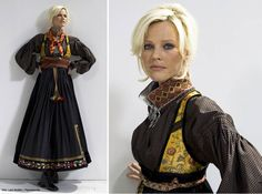I would LOVE this Bunad to honor my Telemark ancestors! Beltestakk from Telemark