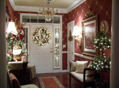 My foyer at Christmas time, Holidays Design