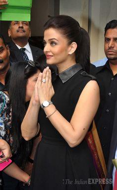 Aishwarya Rai Bachchan at a Longines event.