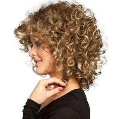 Cute Short Curly Haircuts For Fine Hair Short Natural Curly Hair, Cute Short Curly Hairstyles, Short Thin Hair, Haircuts For Curly Hair, Curly Hair Cuts, Pretty Hairstyles, Curly Hair Styles, Natural Hair Styles, Short Haircuts