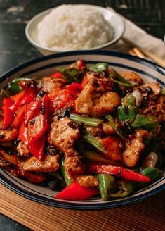 Chicken with Black Bean Sauce - Authentic Recipe! | The Woks of Life