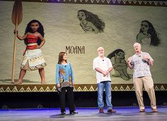 Disney introduced its newest princess, Moana Waialiki, at its recent D23 Expo -- meet the first Polynesian princess here!