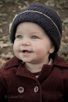 Laura Pol Photography, Baby Photo, Fall Leaves