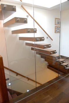 Bespoke timber stairs.