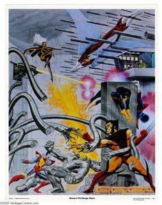 X-Men by Rich Larson & Steve Fastner