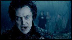 Christopher Walken as the headless horsemen in the movie Sleepy Hollows