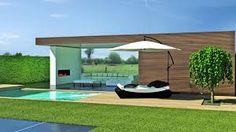 Afbeeldingsresultaat voor overdekt terras modern