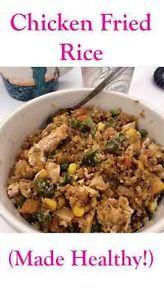 Chicken Fried Rice (Made Healthy!) | eBay