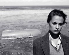 Alicia Vikander photographed by Alasdair McLellan for Vogue UK, August 2016.