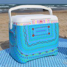 #DIY Doodled Cooler  #crafts
