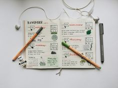 "cutenesspanda: ""Last week bullet journal You can send me a question about my studyblr / bullet journal or even kpop. Feel free to ask :) """