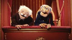 The Muppet Show...we all watched it...Dad laughed at these...
