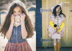 Kids knitwear fall 2015 story fashion for Family Traveller magazine shot by Piotr Motyka