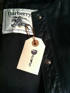 Burberrys Leather jacket