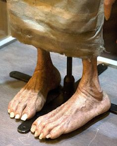Dobby's Feet at the Harry Potter Tour in London