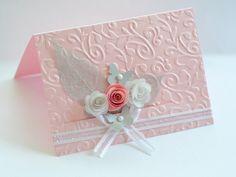 Rose bud handmade card