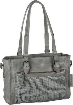 Schokoladige Verlockung: Die modische Handtasche von aunts & uncles bietet ein A4-taugliches Hauptfach mit 3 Innenfächern, 4 Außenfächern und 2 Tragevarianten. Aus gegerbtem Rindleder. Maße: 30x21x12 cm.